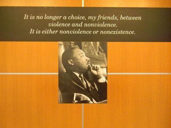 Nonviolence or Nonexistence